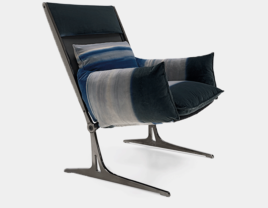 Barracuda armchair for Arketipo Firenze
